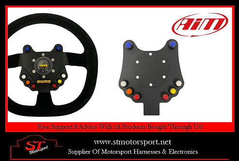 Aim Motorsport 8 Channel CAN Wireless Wheel Button Plate