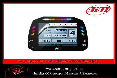 AIM Motorsport MXG Car Dash Data Logger With 7 Inch Colour TFT Display