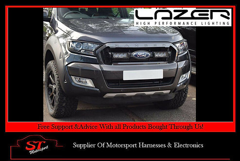 Lazer Lights 2016+ Ford Ranger Lazer Grille Lamps & Mount Kit Triple-R 750 Elite