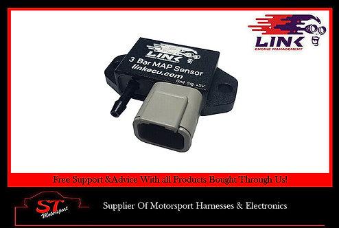 Link ECU G4 G4+ 3 Bar MAP Sensor Connector Plug To Fit Toyota Nissan Ford Etc