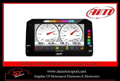 "AIM MXP Strada Dash 6"" Colour TFT Display CAN Connection Race Version"