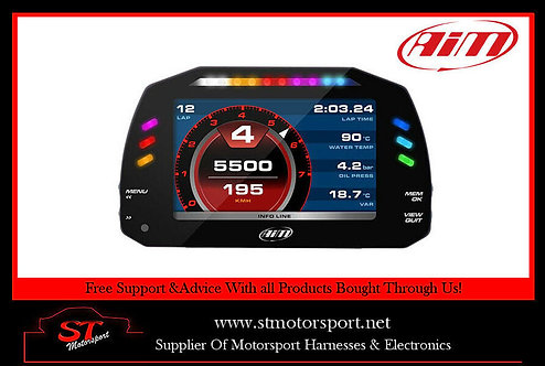 Aim Motorsport MXS 1.2 Compact Data Logger - Motorsport/Rally/Race