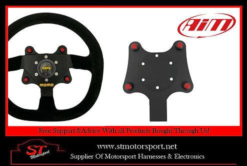 Aim Motorsport 4 Channel CAN Wireless Wheel Button Plate