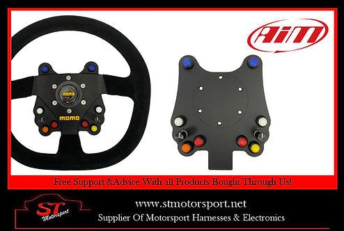 Aim Motorsport 10 Channel CAN Wireless Wheel Button Plate