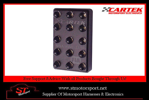 CARTEK Motorsport Rain Light FIA 3-Mode with switch Horizontal/Vertical