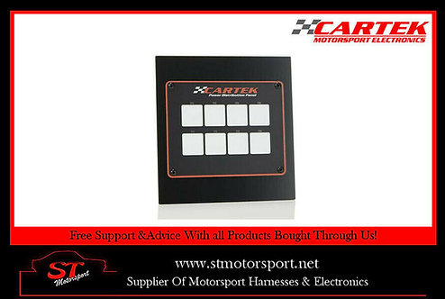 Cartek 8 Channel Power Distribution Panel - Motorsport/Rally/Race