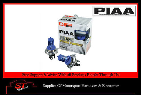 PIAA Motorsport Platinum Competition H600 White Bulbs 140/165W Pair