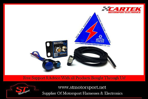 Cartek Battery Isolator XR Kit Rally/Race/Motorsport