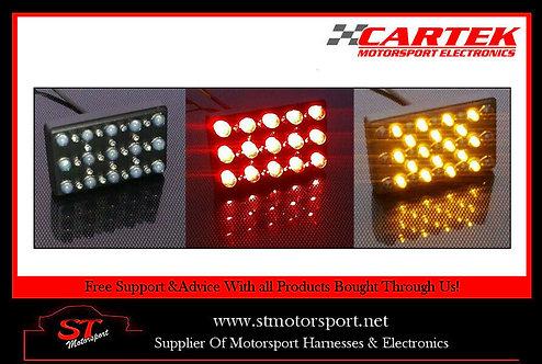 Cartek Dual Coloured Rain Light (Static/Flashing Amber) - Motorsport/Rally/Race