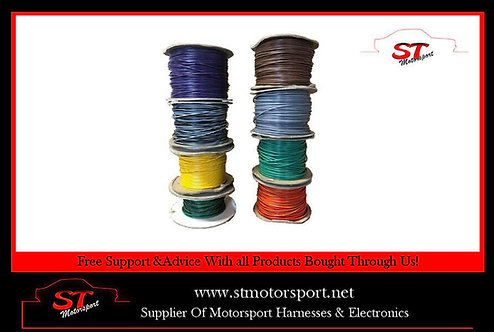 Automotive Thinwall 1mm Auto Cable/Car Wiring Looms 16.5AMP (Per Metre)