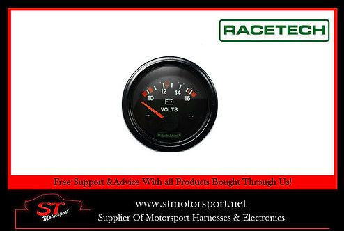Racetech Voltage Gauge Voltmeter