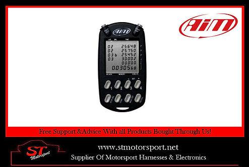 AIM Multichron- Hand Held Digital Car Lap Timer StopWatch