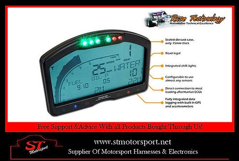 Race Technology Dash 2 Pro Dashboard With Built In Data Logger - Motorsport