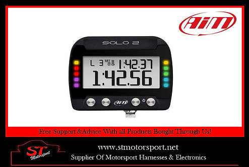AIM Motorsport Solo 2GPS Car Racing Track Day Lap Timer - Motorsport/Rally/Race