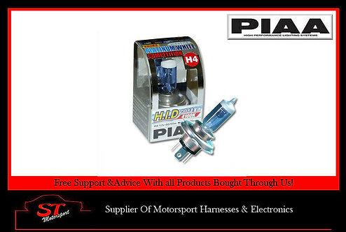 PIAA H4 Historic FIA Platinum Competition Bulb P43T 60/55 130/120W 4100K H88