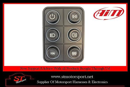Aim Motorsport 6 Key CAN Bus Keypad