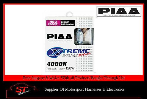PIAA H251E HB3 Xtreme White Plus Bulbs 4000K Twin Pack