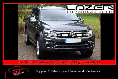 Lazer Lights VW Amarok V6 2016+ Grille Kit With Triple-R 750 Elite Light/Lamps