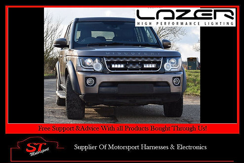 Lazer Lights Land Rover Discovery 4 2014+ Grille Kit With Triple-R 750 Lamps