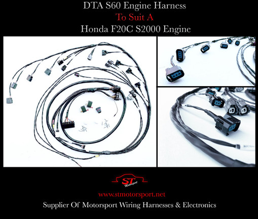 DTA S60 Engine Harness To Suit A Honda F20C Engine