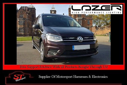Lazer Lights VW Caddy 2015+ Grille Kit With Linear-6 Light/Lamps