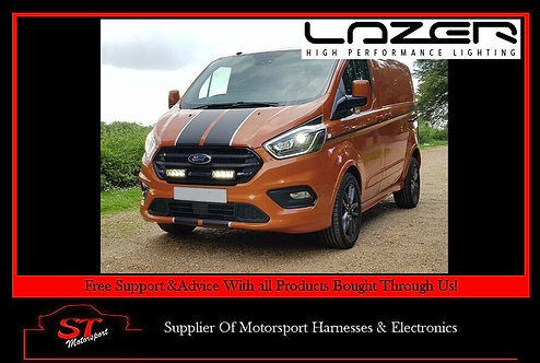 Lazer Lights Ford Transit Custom 2018+ Grille Kit With Triple-R 750 Elite
