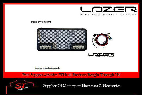 Land Rover Defender MY07 Grille Kit For Lazer Lamps/Spots