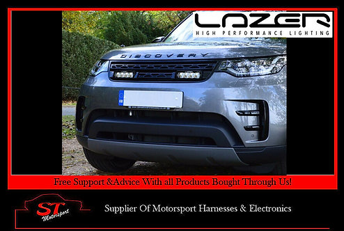 Lazer Lights Land Rover Discovery 5 Grille Kit With ST4 Evolution Light/Lamps