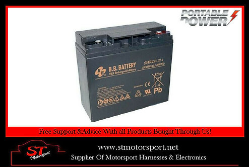 Genuine BB Battery Portable Power 12V DC SHR24ah