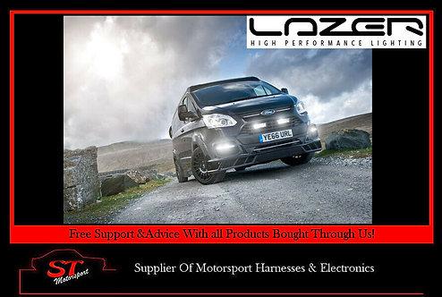 Lazer Lights Ford Transit Custom 2012+ Grille Kit With Triple-R 750 Elite