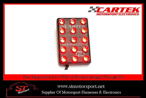 Cartek Afterburner Rain/Brake Light - Motorsport/Rally/Race