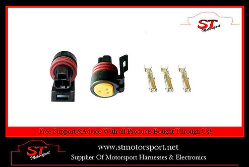 Packard Delphi Fuel Oil Pressure Sensor Connector Kit Solid State