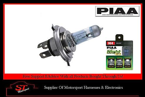 PIAA Night Tech H4 Bulbs (HE820) 60/55W 3600K Pair