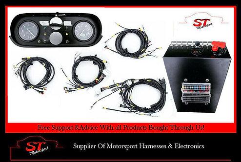 Escort MK1 Motorsport Rally Complete Wiring Loom Harness & Race Tech Gauges