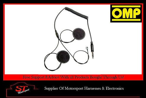 JA/849E OMP - B -Race Intercom Microphone Kit For 1 Helmet Use With OMP JA/874