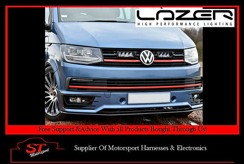 Lazer Lights VW Transporter T6 Grille Kit Startline Kit With Triple-R 750 Elite