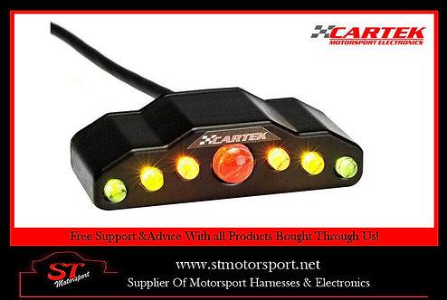 Cartek Dash Mounted Sequential Gear Shift Light - Motorsport/Rally/Race