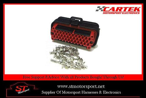 Cartek Power Distribution Panel 08 Connector & Crimp Set - Motorsport/Rally/Race