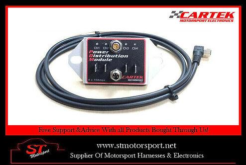Cartek Power Distribution Module(Unit & Cable Only) rally/race/motorsport