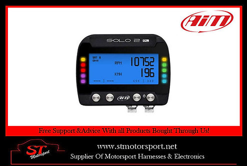 AIM Motorsport Solo 2 DL GPS Race / Trackday Lap Timer With ECU Input - OBDII