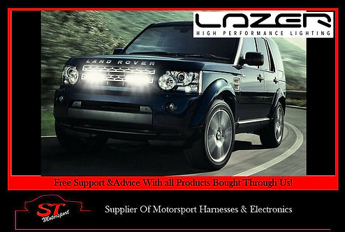 Lazer Lights Land Rover Discovery 4 2009+ Grille Kit With Triple-R 750 Lights