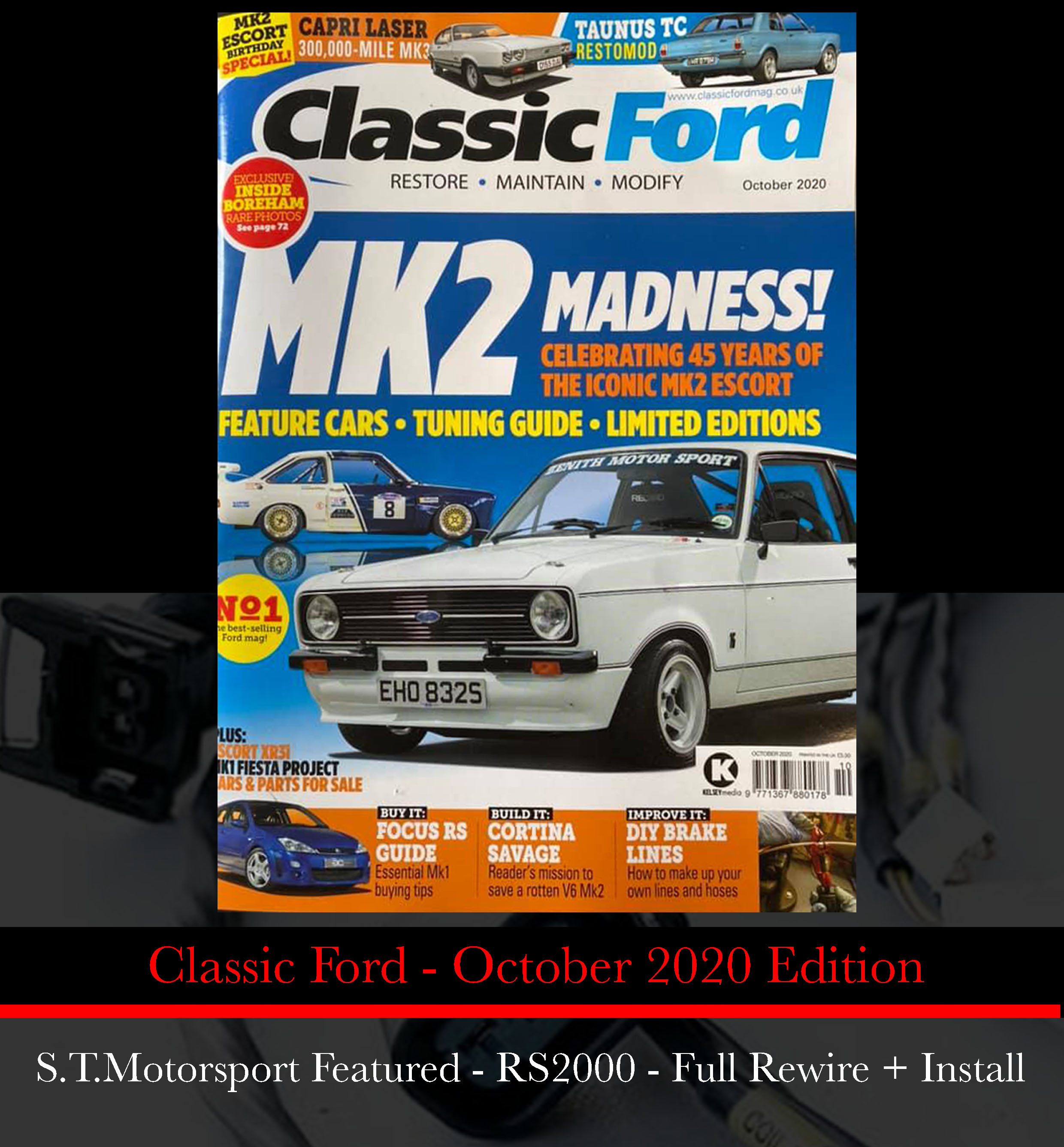 Classic Ford - October 2020 Edition