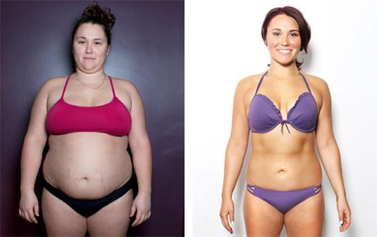 Cindy, 25, lost 55lbs