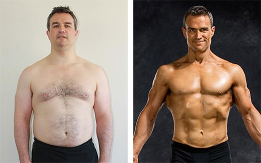 Andrew, 43, lost 51 lbs