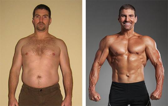 Bryan, 42, lost 32lbs
