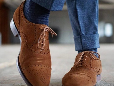 Dirty Suede Shoes? Don't fret!