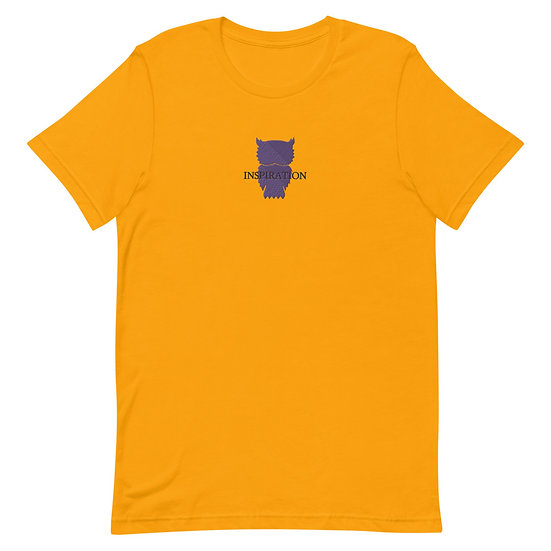 Inspiration Embroidered T (Gold Lake)