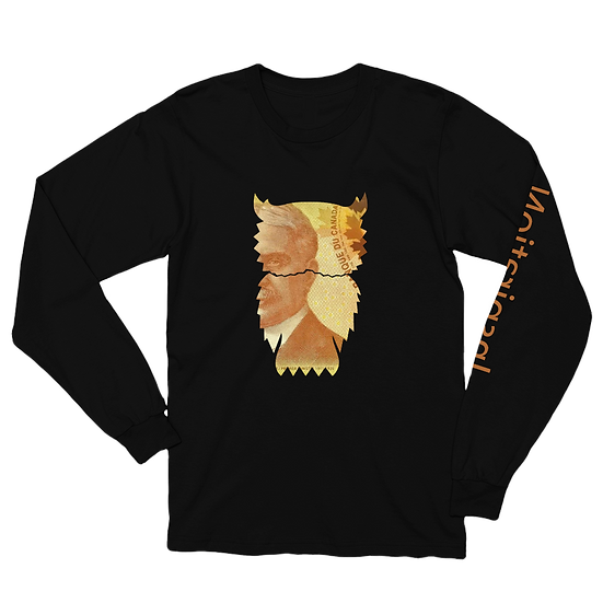 Canadian Brown Back Long Sleeve