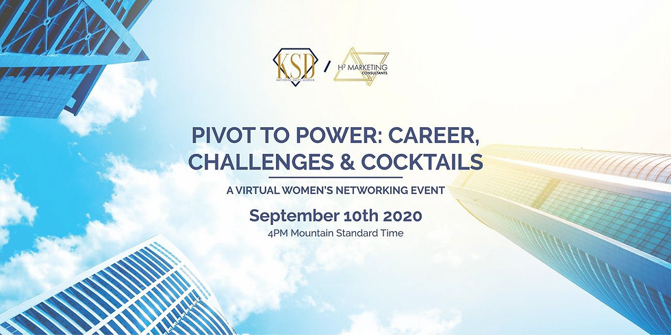 Pivot to Power Zoom Networking and Cocktail Event