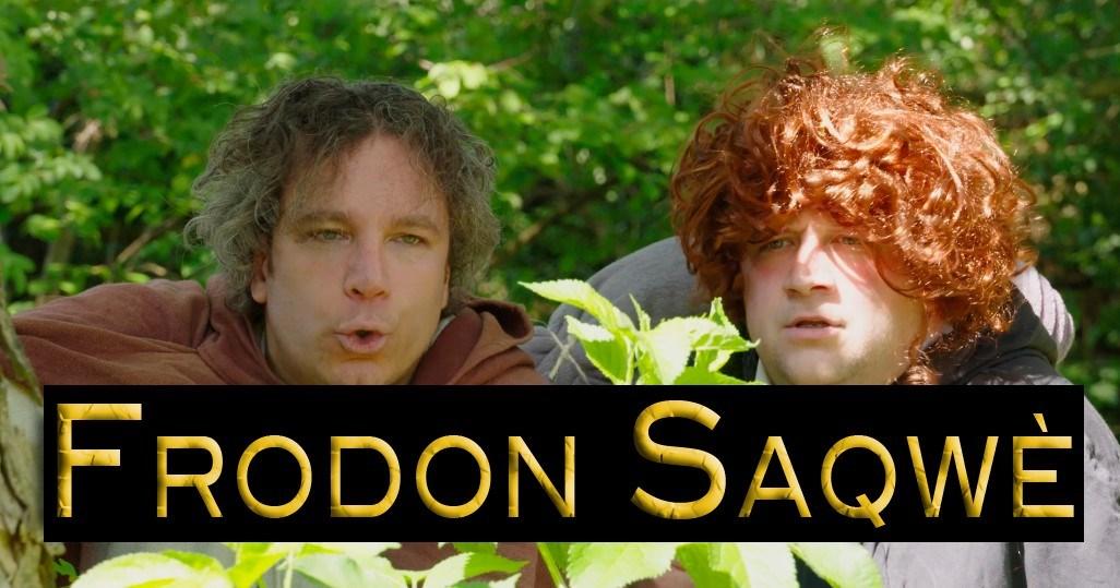 Frodon Saqwè - Fausse bande annonce d'un bavard ;-)